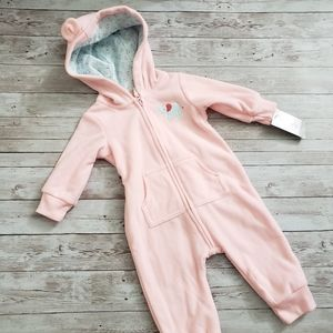 Carters fleece zip up